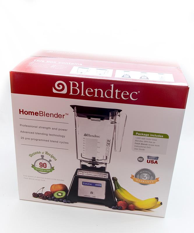 Blandtec home blender box closed