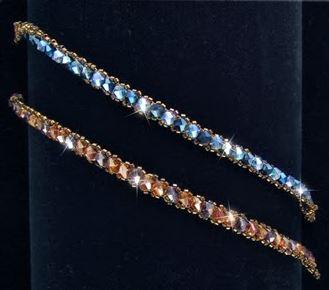 4 Tennis Or Skinny Beaded Bracelet Tutorials