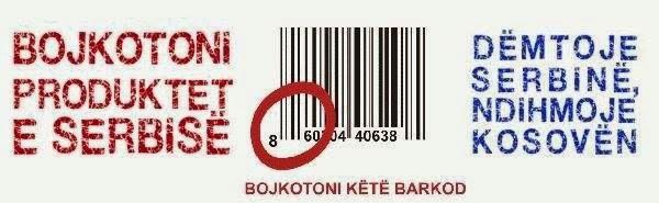 Bojkoto produktet e Serbisë