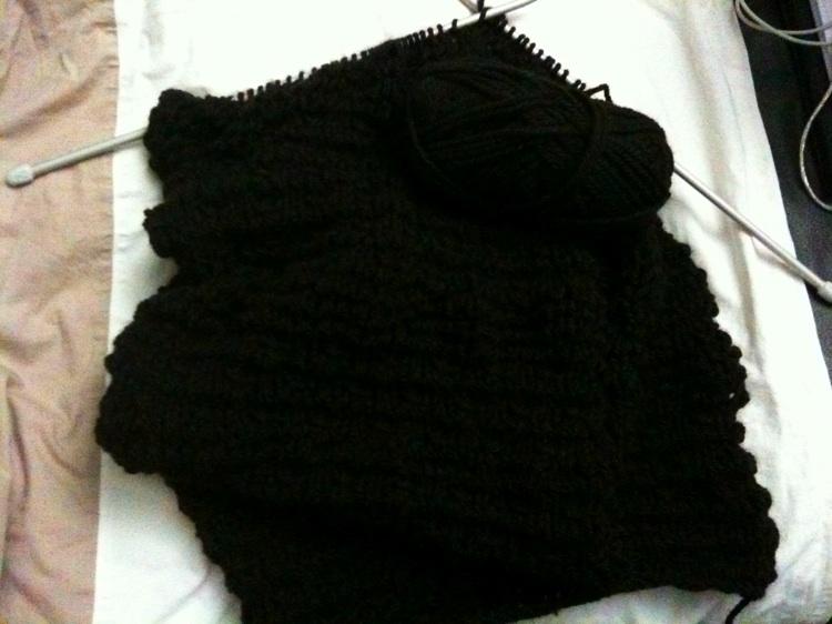 ange 39 s blog projet en cours 2 tricots. Black Bedroom Furniture Sets. Home Design Ideas