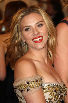 Scarlett Johansson Costume Institute Benefit Gala 2012 The Met Sexy Dress