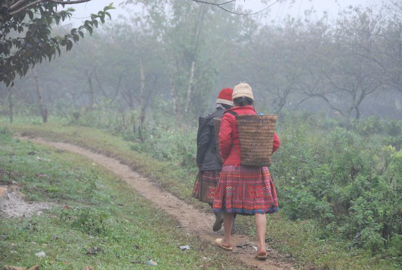 Đi bộ tham quan bản Pà Kò, Mai Châu