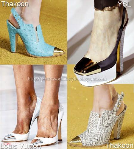 Обувки с метални носове