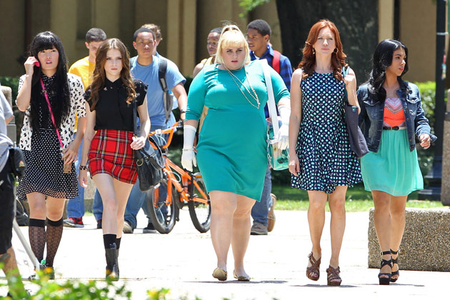 "Anna Kendrick and Rebel Wilson lead the way in ""Pitch Perfect 2"""