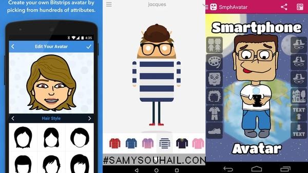5 تطبيقات مجانية لنظام أندرويد لإنشاء صور شخصيات كرتونية