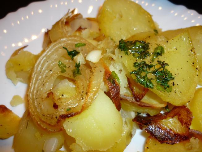 Patatas panaderas utilizando thermomix cocina f cil y barata for Cocina thermomix facil