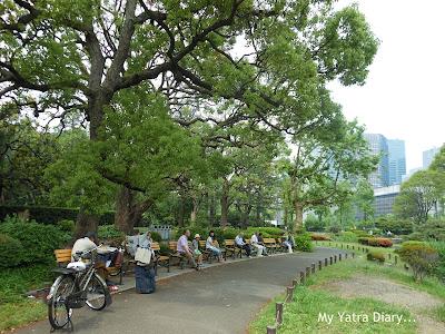 Pathway - Hibiya Garden - Tokyo, Japan