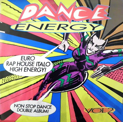 DANCE ENERGY - VOLUME 2 (Non-Stop Dance Double Album) [Various Artists] 1991 \