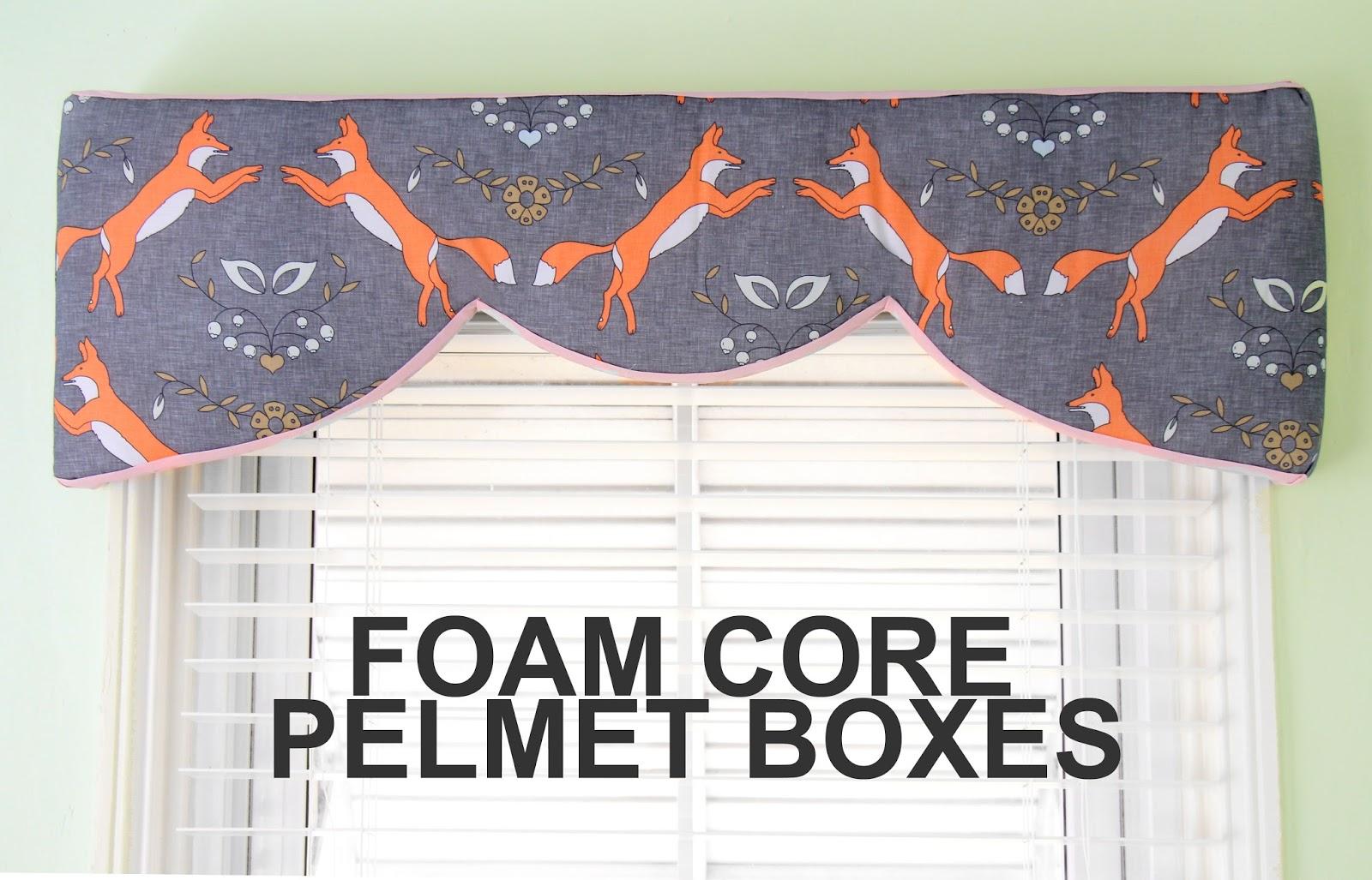 Foam Board Pelmet Boxes September 27 2014