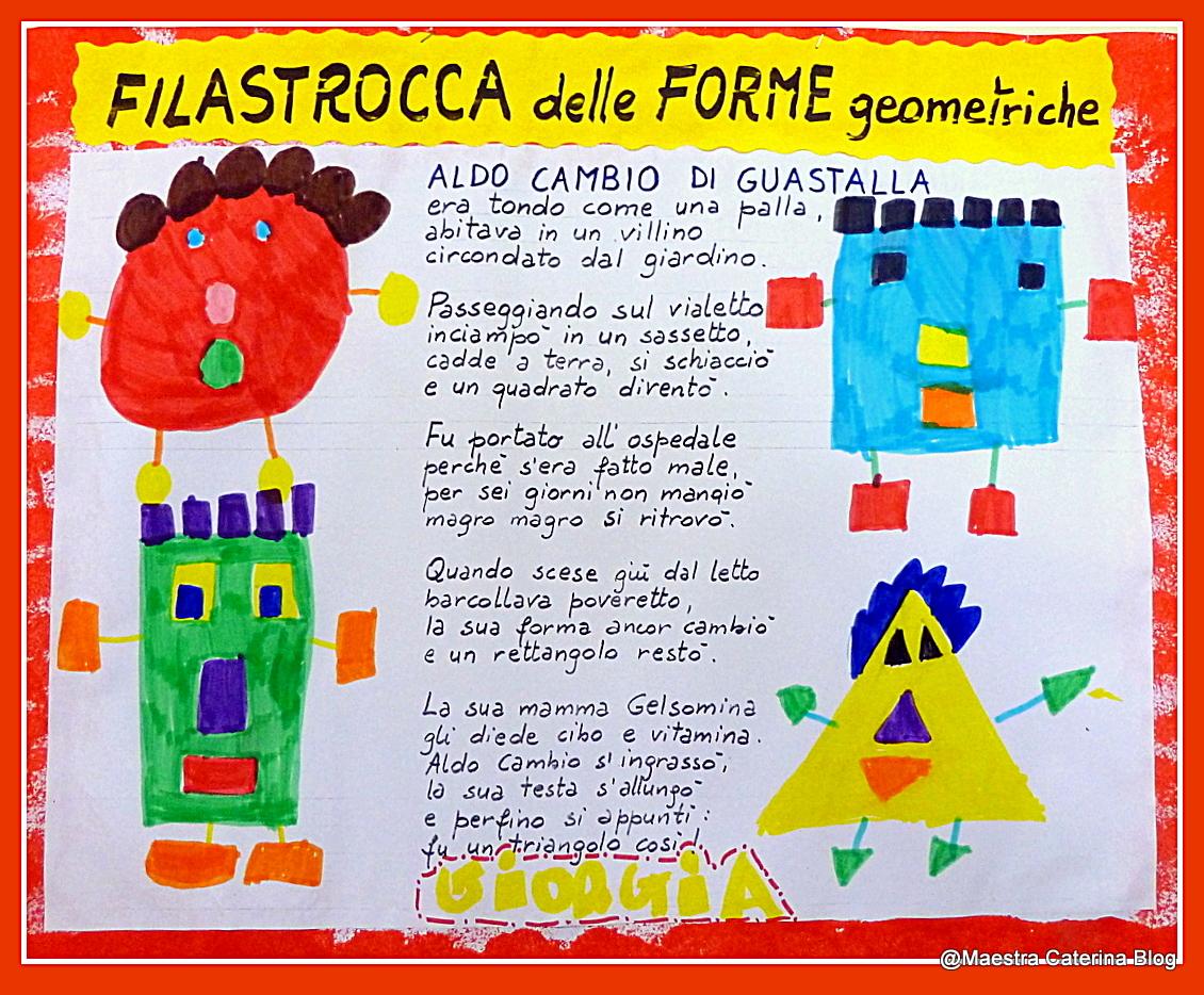 Bien-aimé Maestra Caterina: Filastrocca delle Forme geometriche PS21