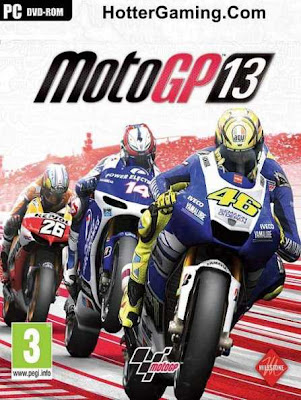 Free Download MotoGP 13 PC Game Cover Photo