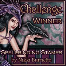 Spellbinding Stamps Winner