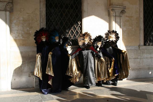 Venice figures carnival