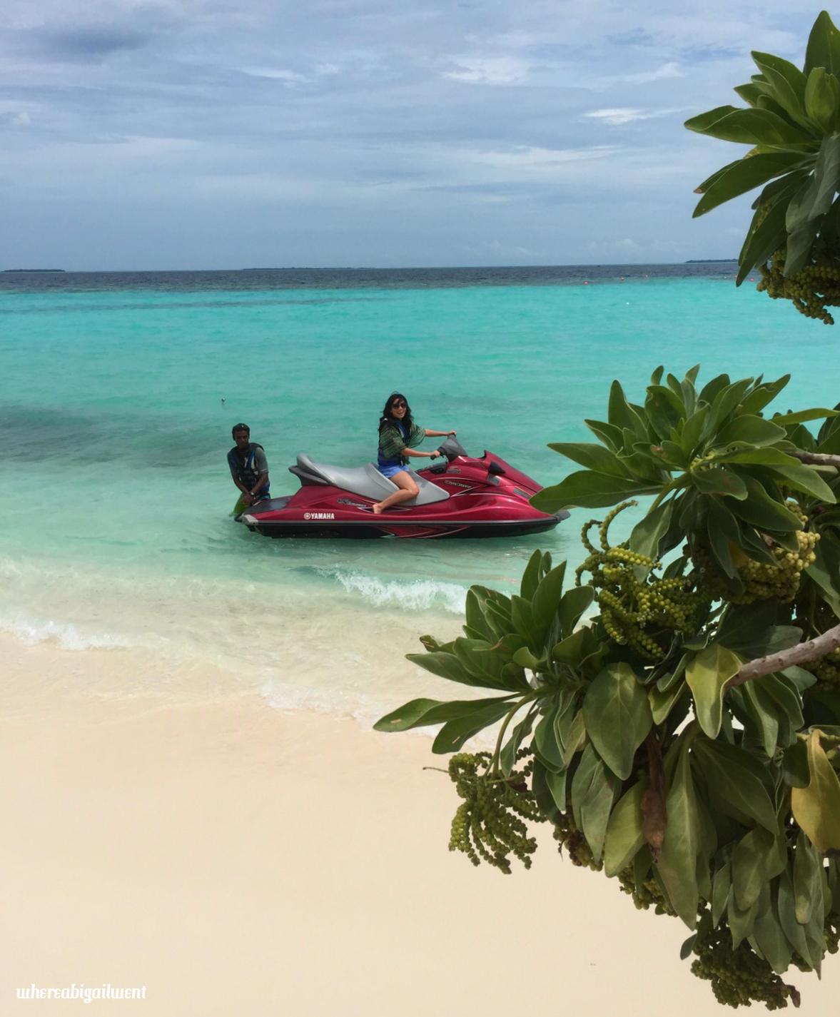 Amilla Fushi Jet Ski Motorized Watersports