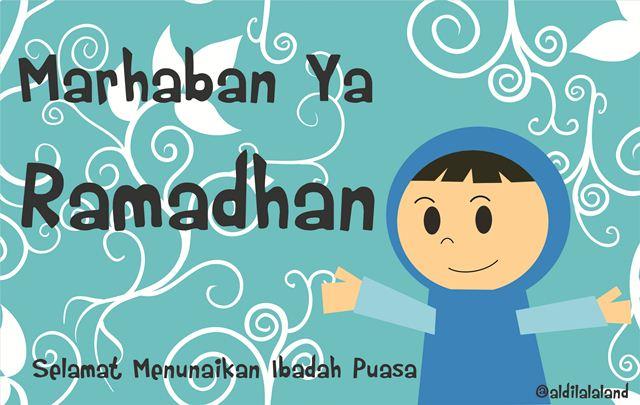 Marhaban Yaa Ramadhan . . Selamat menunaikan ibadah puasa bagi yang menjalankan . . .