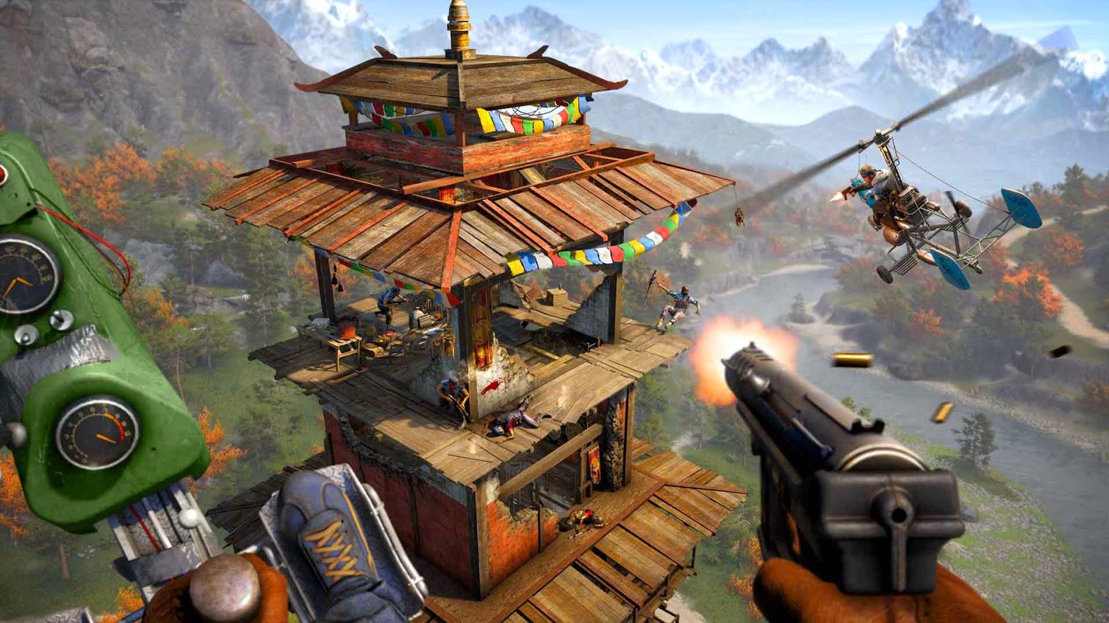 وهشانی چوارهمی یاری بهناوبانگ Far Cry 4 بۆ ویندۆز