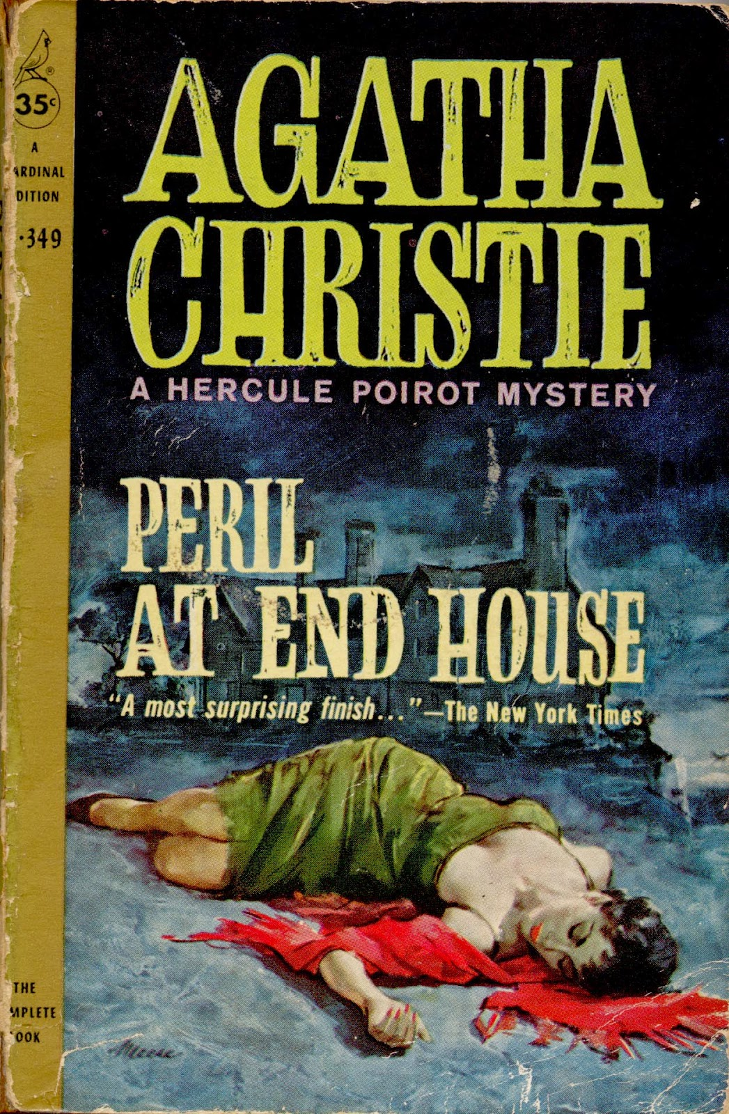 Agatha Christie - The Peril at End House pdf ~ novels society blog