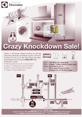 Electrolux Warehouse Sale