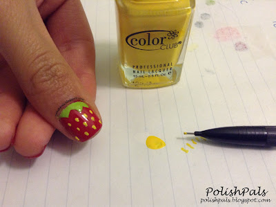 Strawberry Nail Art Tutorial