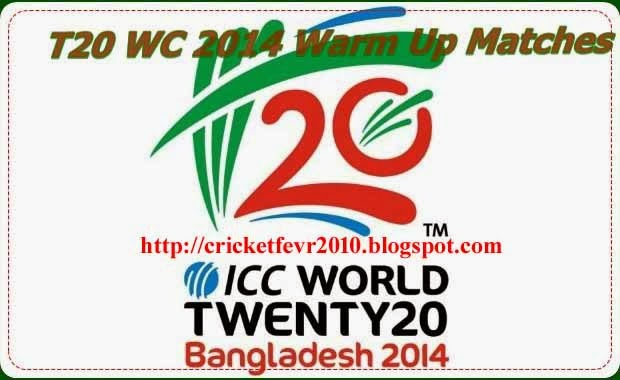 ICC Announced T20 World Cup 2014 Schedule ,Timetable