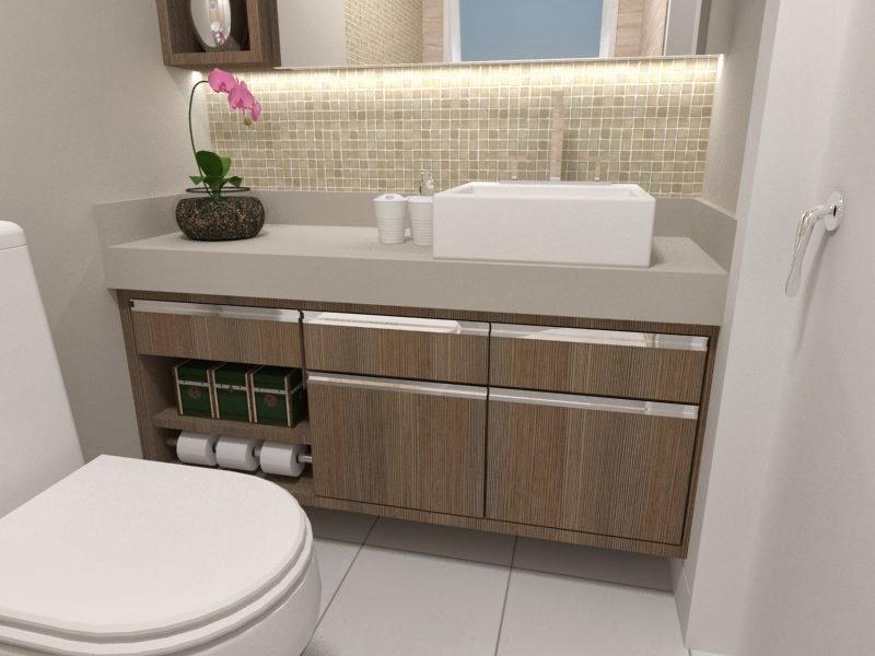Decore  Design de Interiores Suíte do Casal -> Armario Para Banheiro Cassol