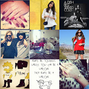 An instagram round up: manicures, Revenge, outfits, Lisa Simpson.