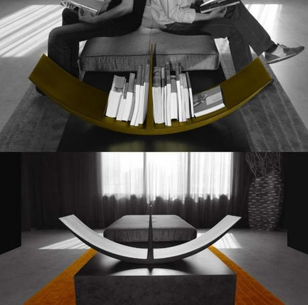 Creative Bookshelves Designs