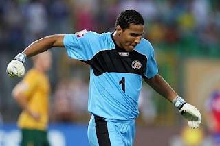 Alvarado baja  Costa Rica Copa América