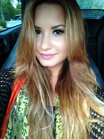 Demi Lovato Já Foi Morena, Já Teve O Cabelo Castanho,ruiva E Agora
