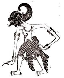 gambar tokoh wayang kulit dan namanya