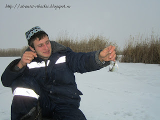 зимняя рыбалка на реке Белой