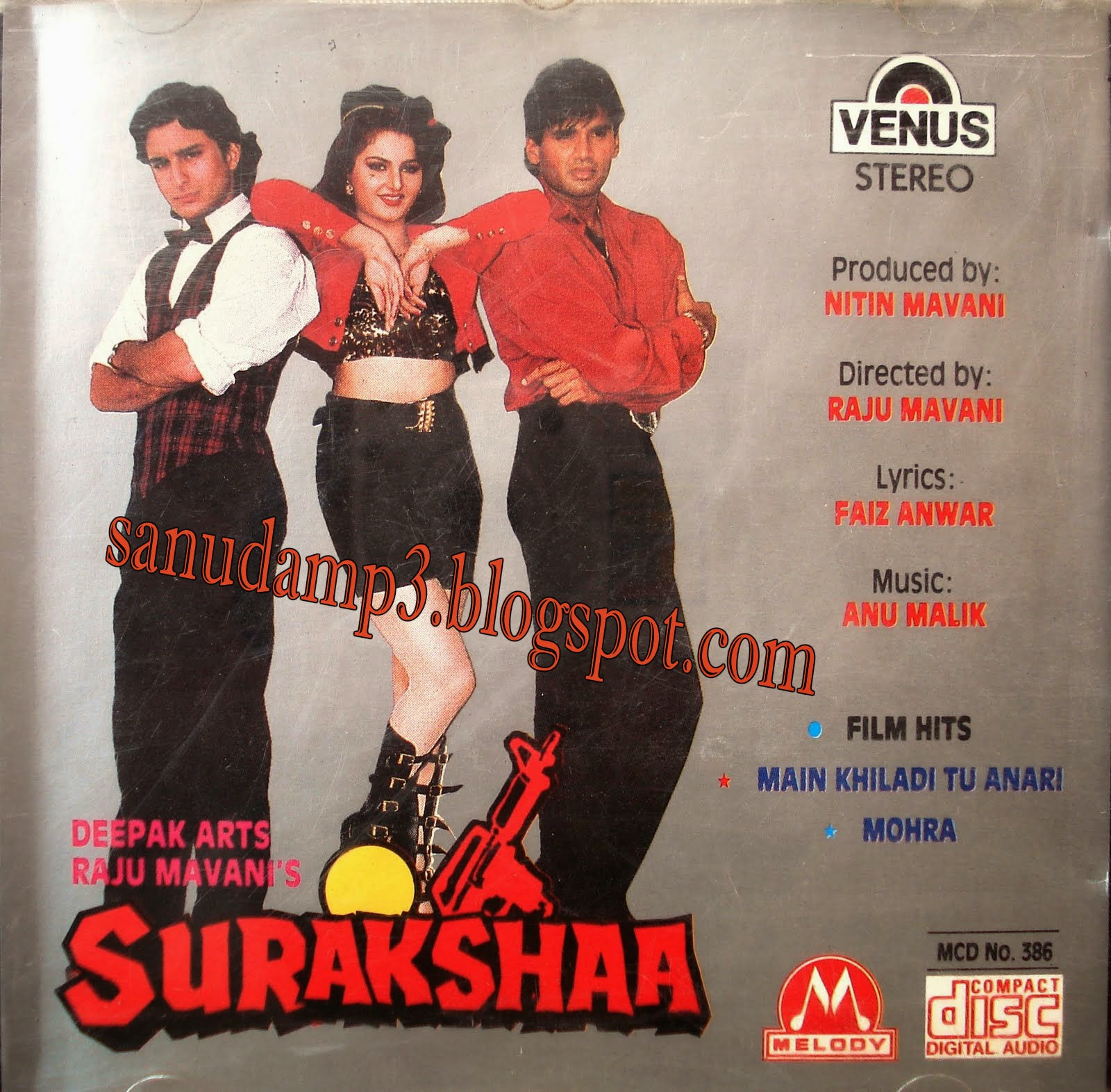Download Lagu Ost Dil Se Dil Tak: Sanudamp3.blogspot.com: Surakshaa(1996