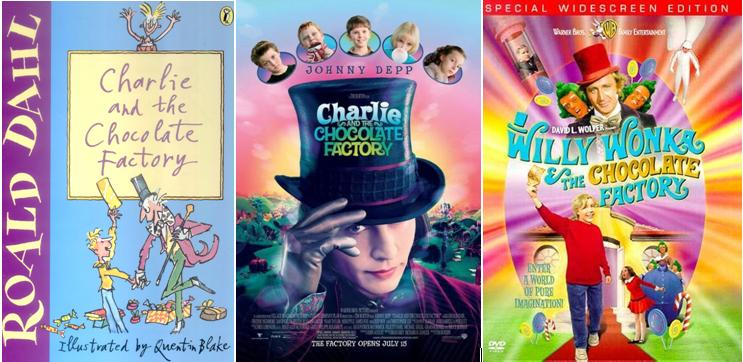 the portrayal of greed love and fantasy in the stories charlie and the chocolate factory and matilda Read common sense media's willy wonka and the chocolate factory review  (adapting his book charlie and the chocolate factory) for kids who love fantasy.