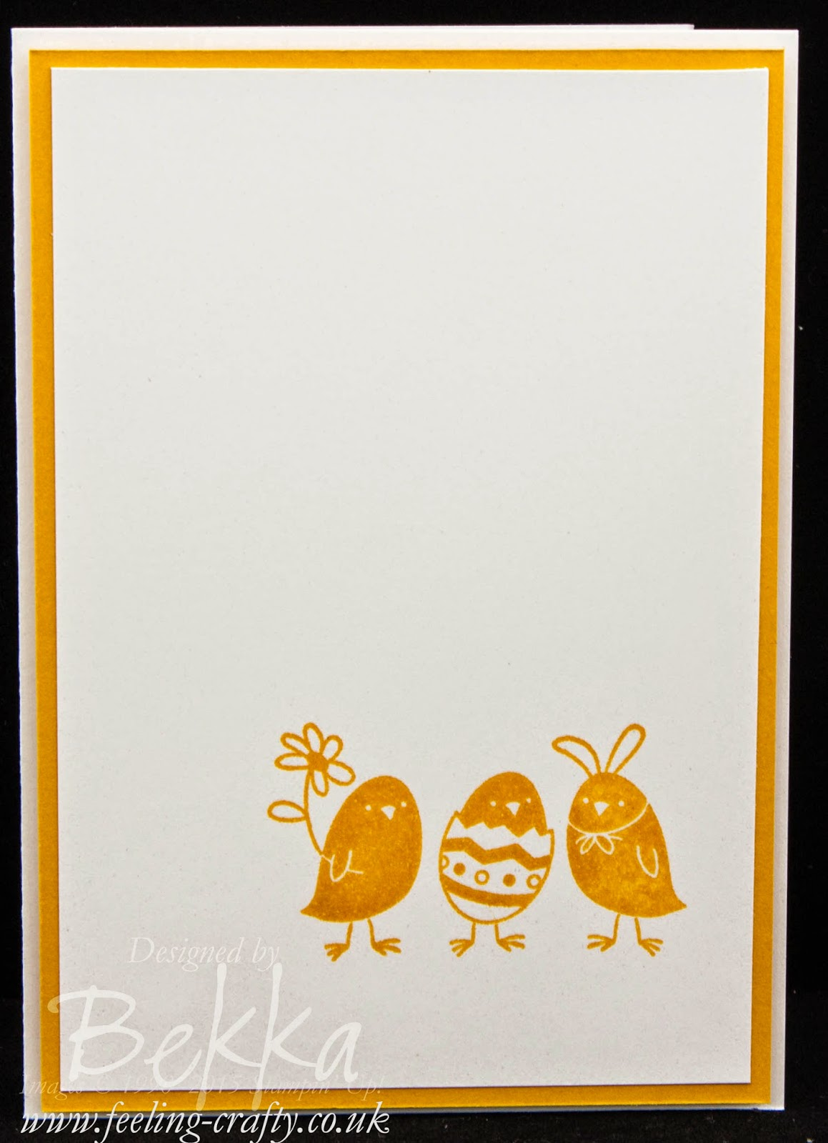 Cute Chick Easter Card For Peeps' Sake! Check this blog for lots of great ideas and to get your Stampin' Up! UK goodies