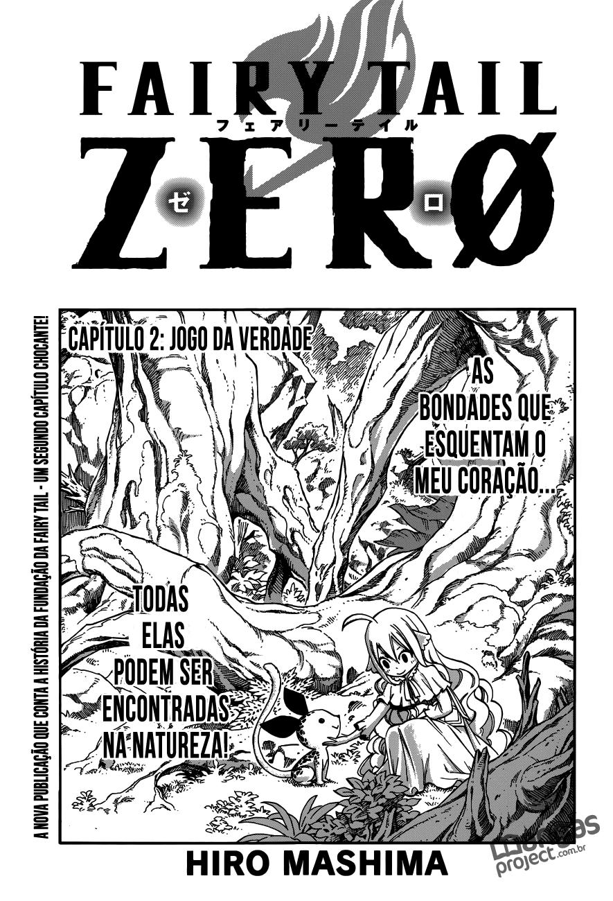 Fairy Tail Zero 02 Mangá Português leitura online capitulo 2