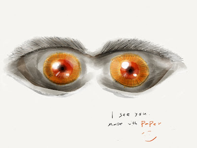 Paper: I see you