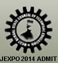 JEXPO 2014 Admit Card, JEXPO / VOCLET 2014 Admit Card, WEBSCTE JEXPO Polytechnic Admit Card 2014, WBSCTE Admission Hall Tickets 2014