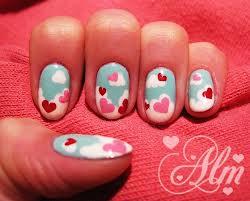 Dia dos Namorados Corações e nuvens