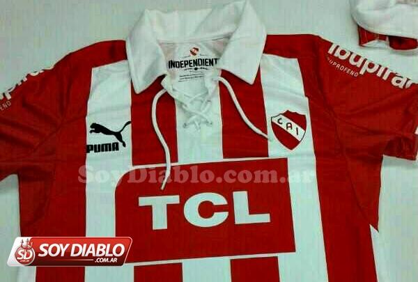 Nueva camiseta de Independiente