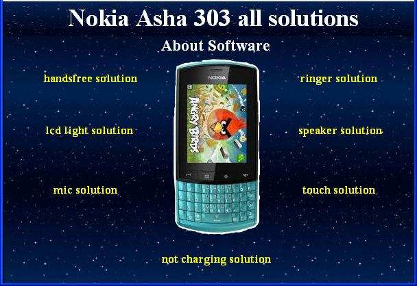 Nokia Asha 303 All Hardware Software Solution free Download