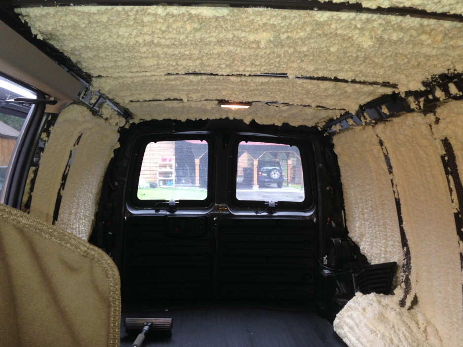 My Chemical Free House Converting A Cargo Van