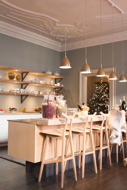 Amalie loves denmark Royal Copenhagen Weihnachtstisch