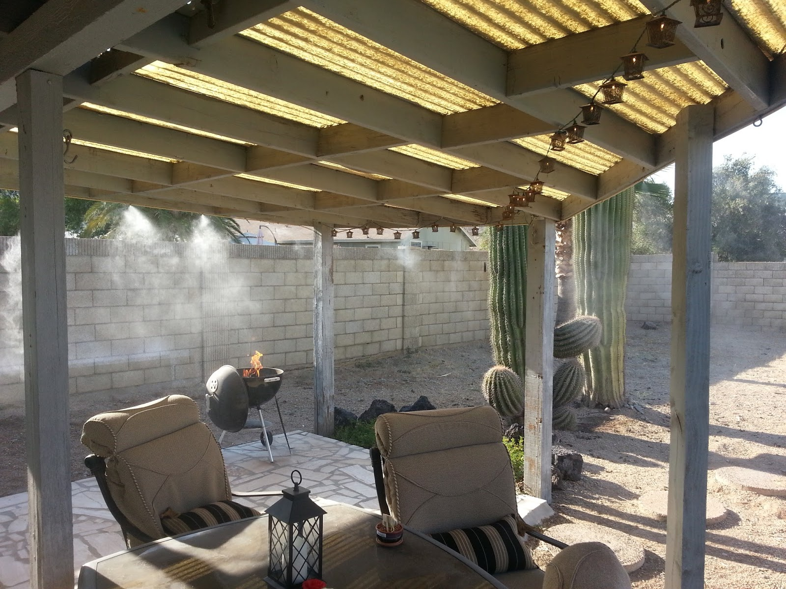 Orbit Misting System : Az diy guy s projects in case you mist it installing a