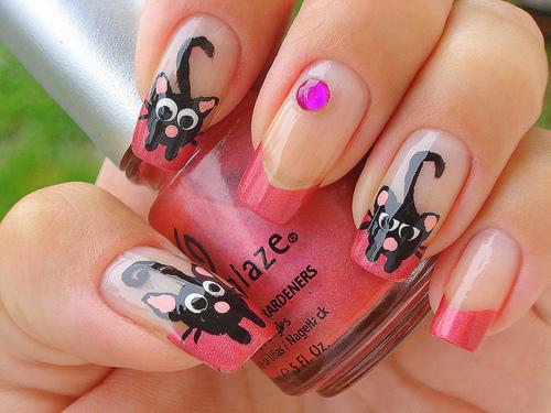 nail art nail Tendência de Unhas Decoradas