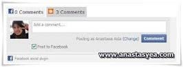 Tutorial : Cara Pasang Kotak Komen Facebook Di Blog