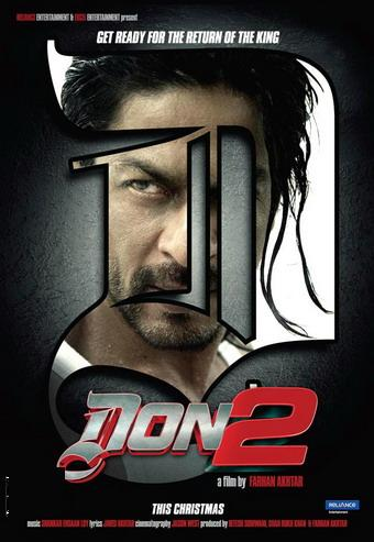 Don 2 (2011) Bollywood Upcoming Movie First Look Information
