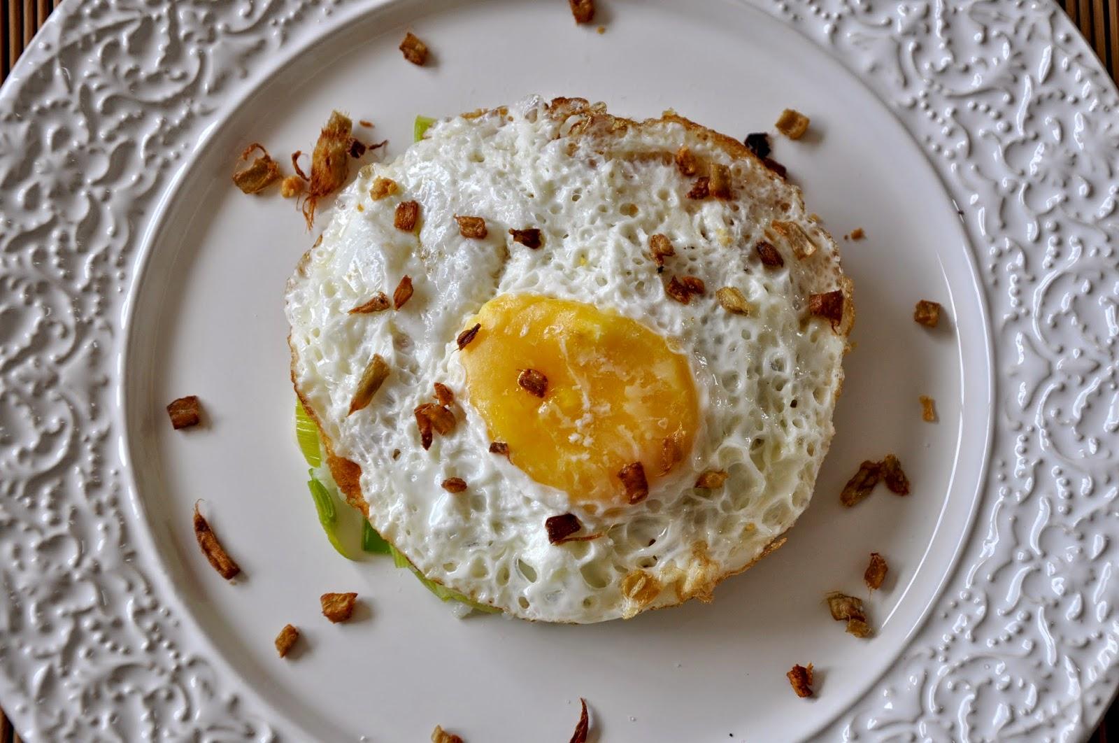 arroz com ovo frito