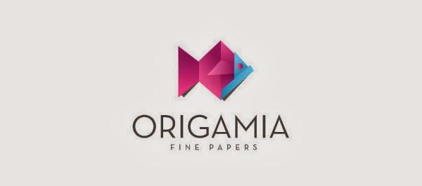 Logos em origamis