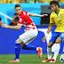 [leia] Brasil vence Croácia por 3 a 1 no jogo de abertura da Copa do Mundo.