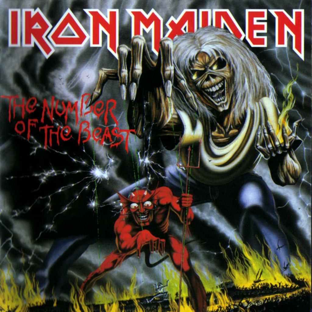 Iron Maiden Number Of The Beast Single El Escarabajo Pelotill...